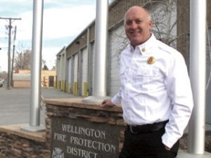 Wellington Fire Protection District's Gary Green