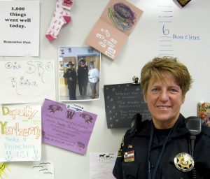 Larimer County School Resource Officer Deputy Nancy Kay Remington.