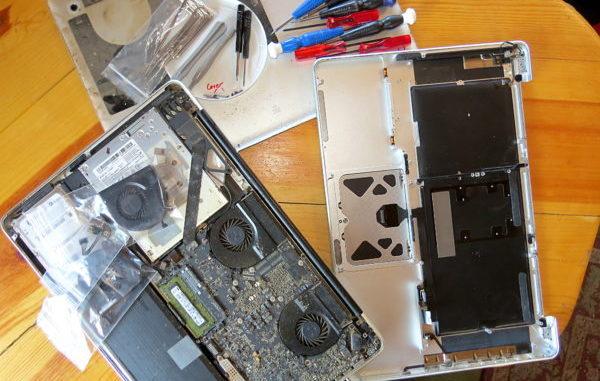 spudger, Macbook, keyboard replacement