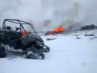 Canyon Lakes Ranger District Pile Burning the Week of February 19