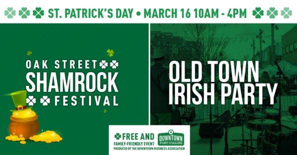 Oak Street Shamrock Festival & Old Town Irish Party