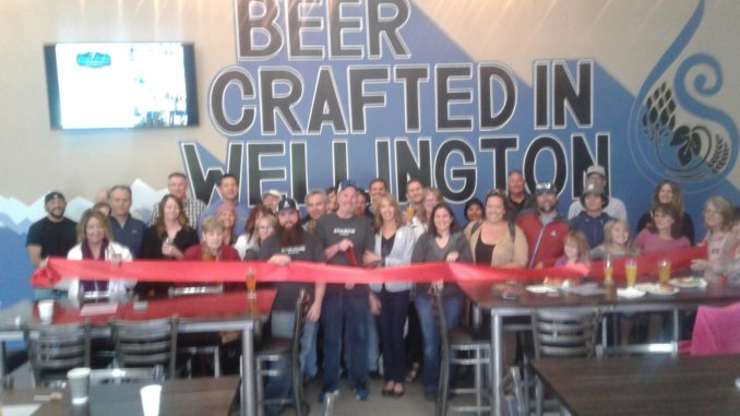 Wellington celebrated its newest brewery over the weekend, Sparge Brewing, on Saturday, June 22nd with a Ribbon Cutting Ceremony, provided by the Wellington Area Chamber Of Commerce.