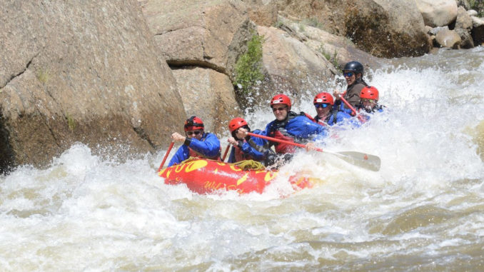 Rafting. Photo courtesy of Colorado Parks and Wildlife.