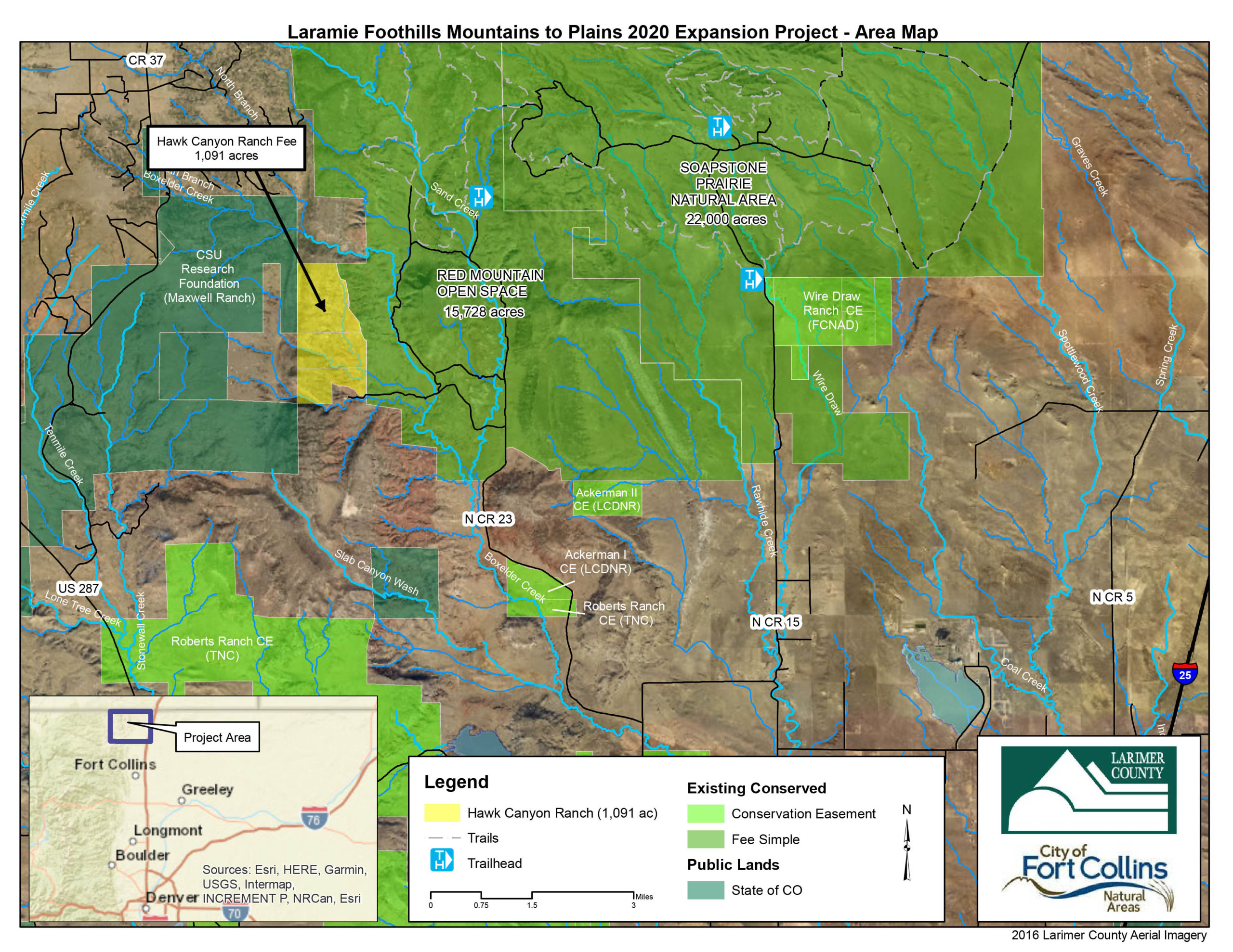 Larimer County Acquires 1,091-Acre Ranch Bordering Red Mountain Open Space